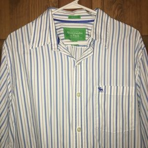 Abercrombie & Fitch Muscle Button Up